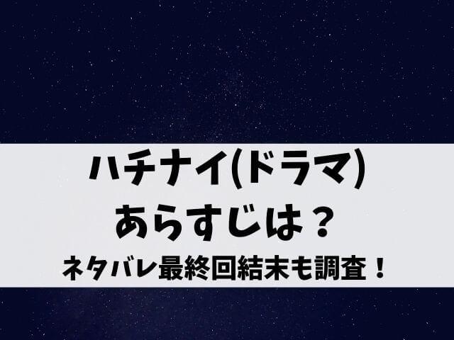 ハチナイ(ドラマ)のあらすじは?ネタバレ最終回結末も調査!