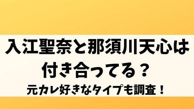 入江聖奈と那須川天心は付き合ってる?元カレ好きなタイプも調査!